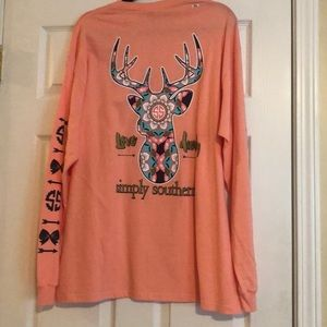 NWT ladies xl simply southern long sleeve top